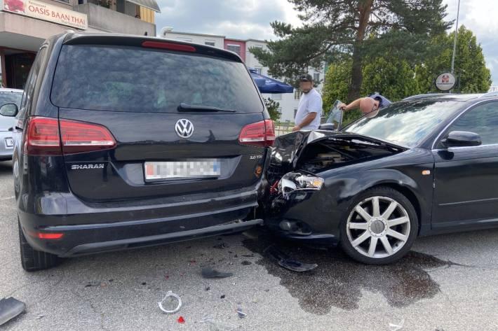 In Rothrist AG hat ein Lernfahrer einen Unfall verursacht.