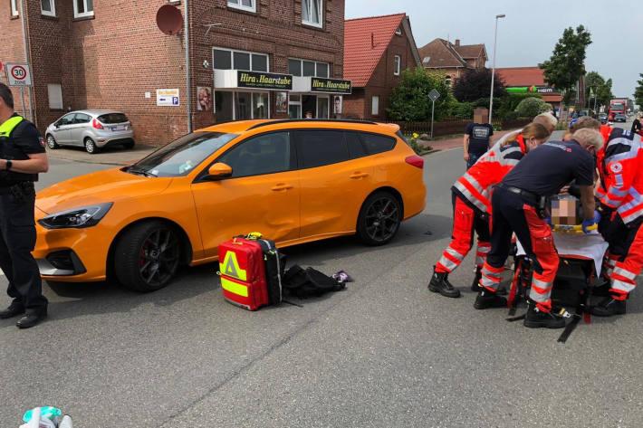 25-jähriger Motorradfahrer bei Unfall schwer verletzt