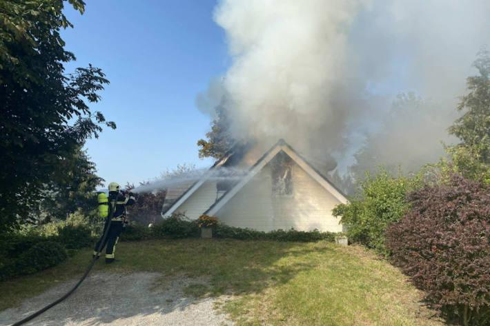 Brand eines Wohnhauses in Esmonts