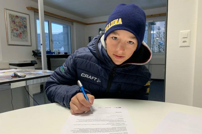 Sandro Vonlanthen darf für einen Tag zum HC Davos.