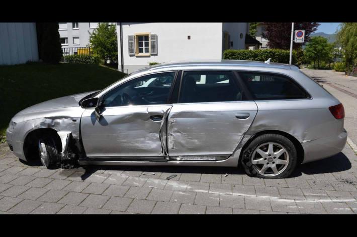 Unfallfahrzeug aus Zuchwil