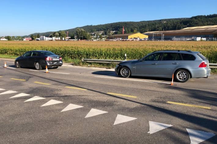 In Felben-Wellhausen TG verletzten sich drei Leute bei einem Unfall.