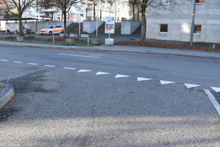 Selbstunfall mit Motorrad in Rorschacherberg