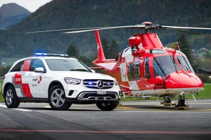 Schwer verletzten Mann per REGA ins Spital geflogen – Symbolbild