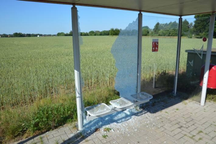 Grosse Zerstörung in Stuhr / Weyhe.