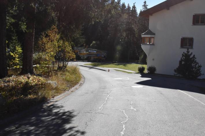 Fussgänger von Auto angefahren in Lenzerheide