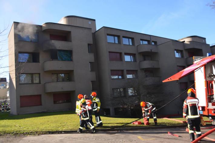 Wohnung nach Brand in Rorschacherberg zerstört
