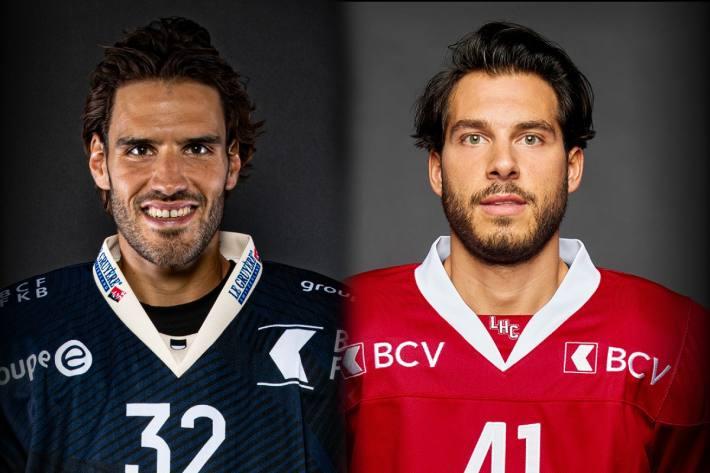 Noah Schneeberger (l) und Mauro Jörg (r.)