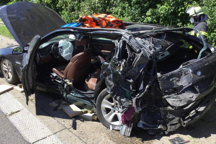 Schwerer Unfall auf der A565 Bonn – mehrere Verletzte