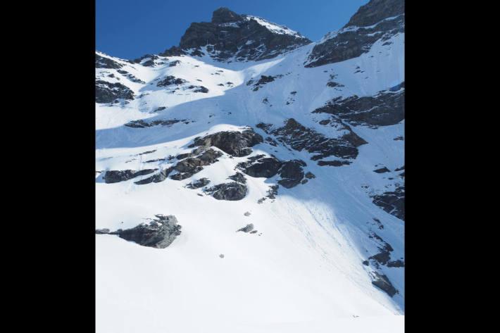 Tödlicher Bergunfall am du Meitin