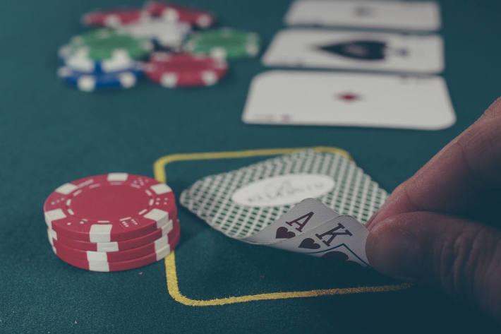 Symbolbild Glücksspiel