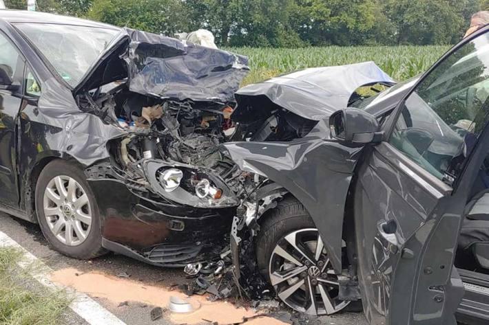 Tödlicher Verkehrsunfall in Brande-Hörnerkirchen
