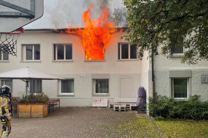 Brand in Zimmer einer Klinik in Littenheid
