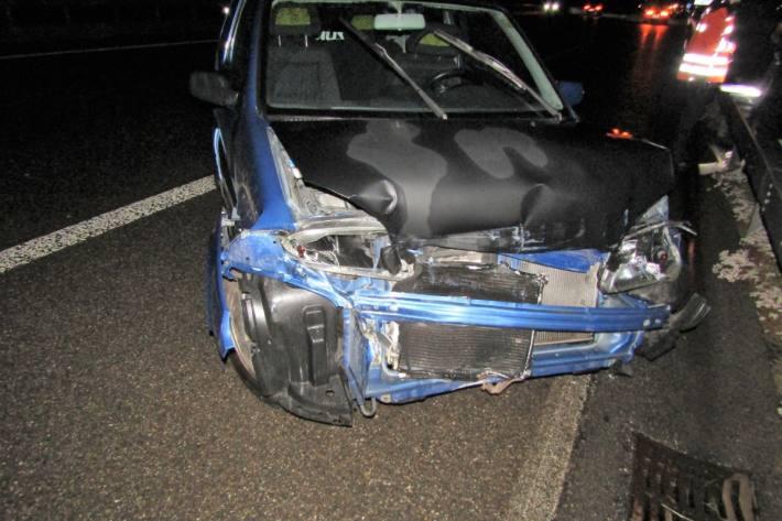Auf der A3 bei Bilten GL ist gestern ein Auto verunfallt.