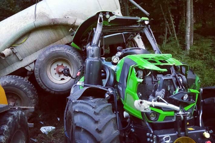 Unfall in Kornberg