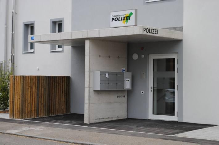Neue Polizeistation Reiat in Thayngen.