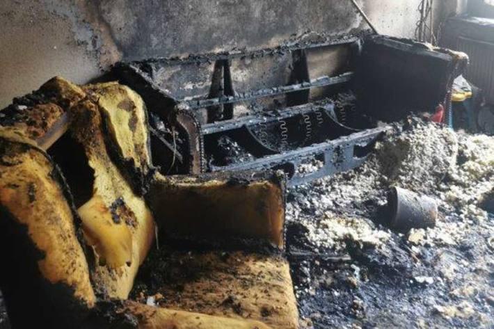 Möglicherweise ist ein Fernseher im Wohnzimmer für das Feuer in Nordhausen verantwortlich