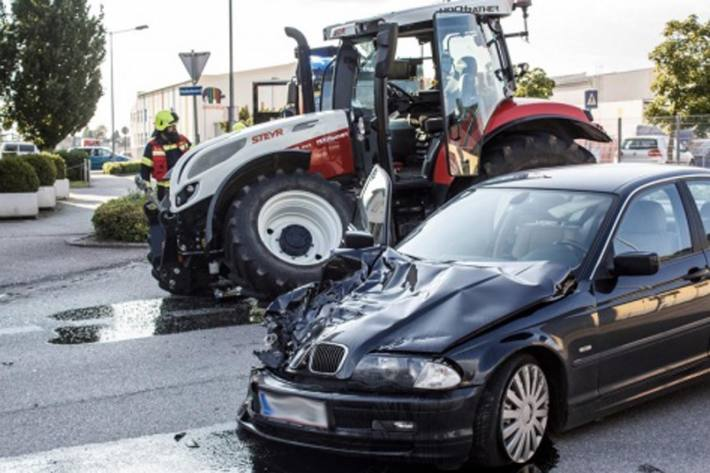 Unfall in Perg