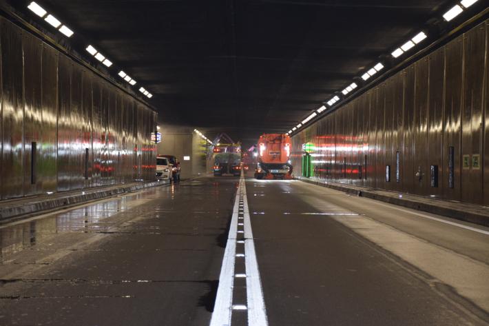 Gotthardstrassentunnel wird für Unterhaltsarbeiten gesperrt