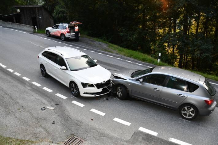 In Chur GR kam es zu einem Unfall in Richtung Arosa.