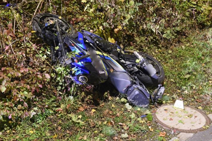 Für den Motorradfahrer konnte gestern in Emmenbrücke LU nichts mehr getan werden.
