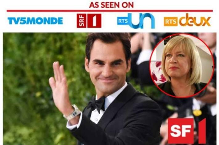 Screenshot Mail Angeblicher Artikel über Roger Federer