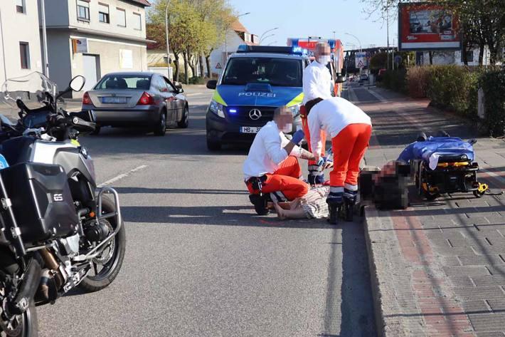 In Bremerhaven wurde die Frau zuerst über die Motorhaube in die Windschutzscheibe und dann auf die Fahrbahn geschleudert