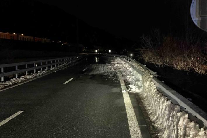 In Chur GR ist gestern ein Autolenker alkoholisiert verunfallt und weitergefahren.