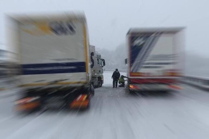 Autobahn A4 bei Seewen SZ ist derzeit gesperrt.