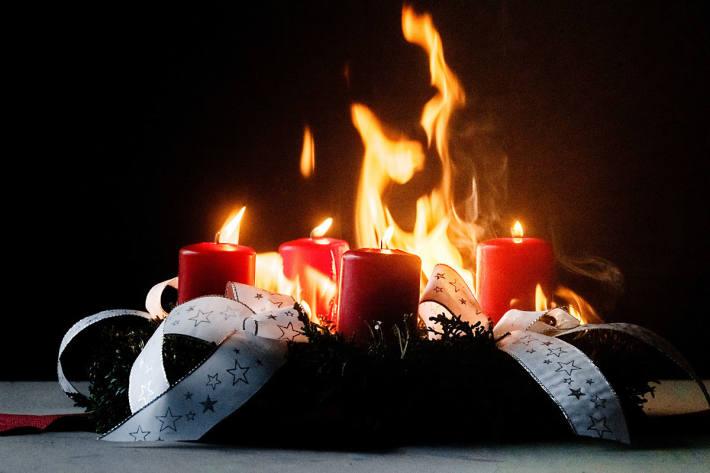Adventszeit ist Kerzenzeit, denn Kerzen tragen zu einer besinnlichen Stimmung bei