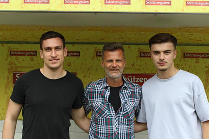 Zwei Neue beim FC St.Gallen.