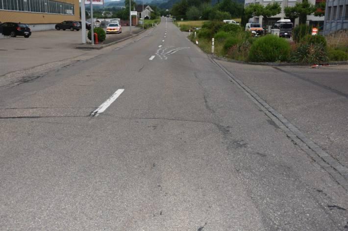 In Niederglatt SG verunfallte gestern ein Motorradfahrer.