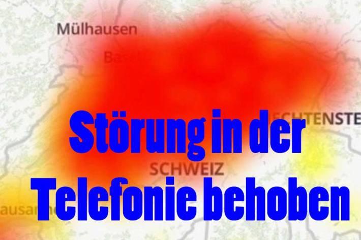 Die Notrufnummern im Kanton Schwyz sind wieder wie gewohnt erreichbar