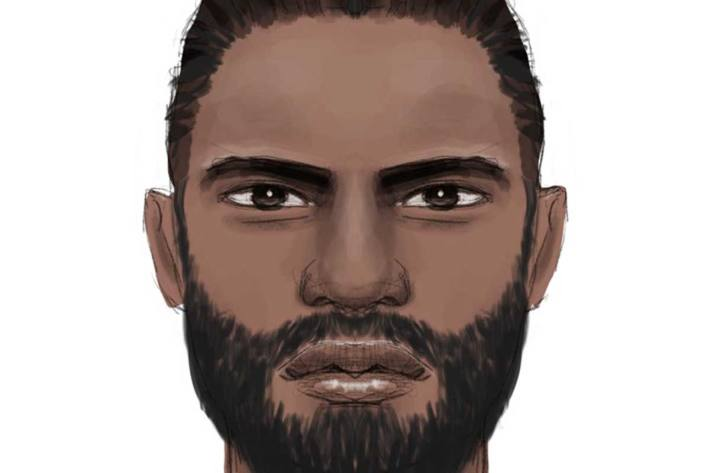 Phantomskizze von einem der Täter, die am 10.06.21 einen 40-Jährigen in Lüneburg beraubt haben