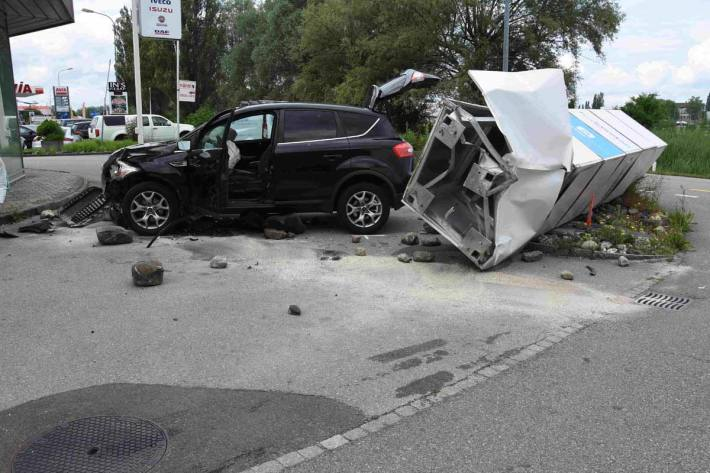 Unfall in Staad