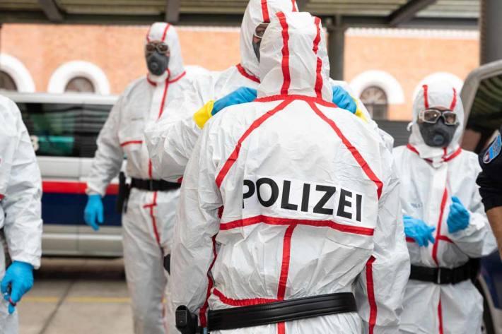 Kompetenzteams der Wiener Bereitschaftseinheit hielten den 34-Jährigen an