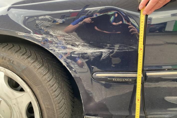 In Rheinfelden AG kam es gestern zu einem Unfall.