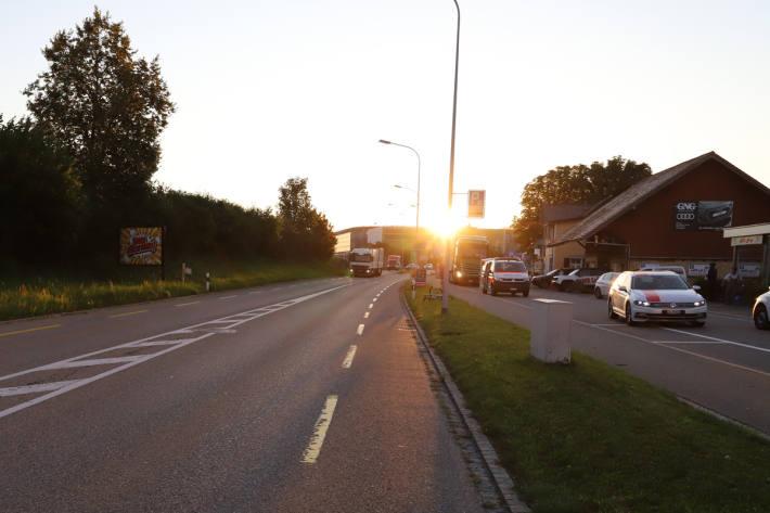 PKW nach Verkehrsunfall in St.Gallen weitergefahren
