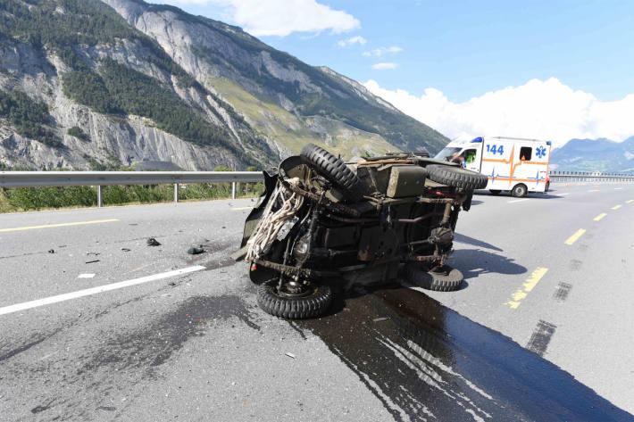 Verkehrsunfall fordert ein Todesopfer bei Domat/Ems