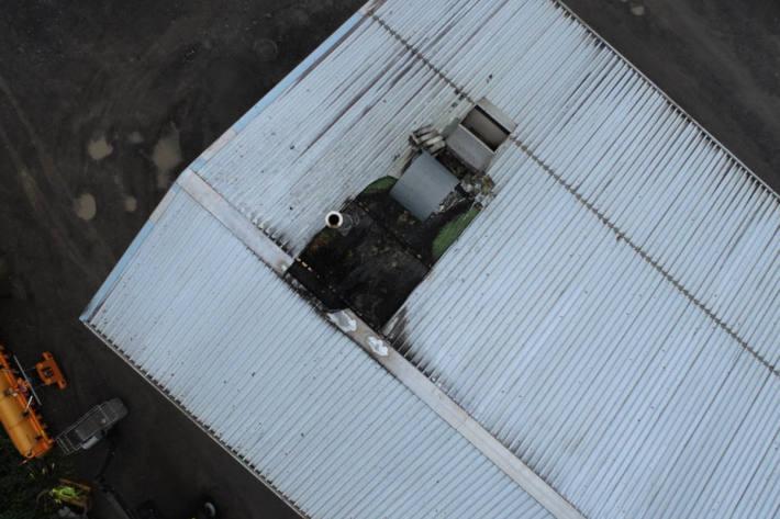 Feuer in Industriebetrieb in Mels ausgebrochen