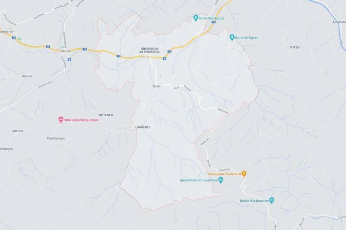 In Bowil BE kam es zu einem schweren Verkehrsunfall gestern.