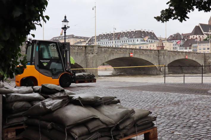 Teilstab der KKO beschliesst weitere Massnahmen gegen das Hochwasser in Basel