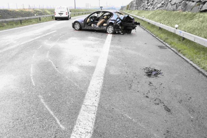 Am Montagmorgen 22.03.2021 kam es in Au SG zu einem Unfall.