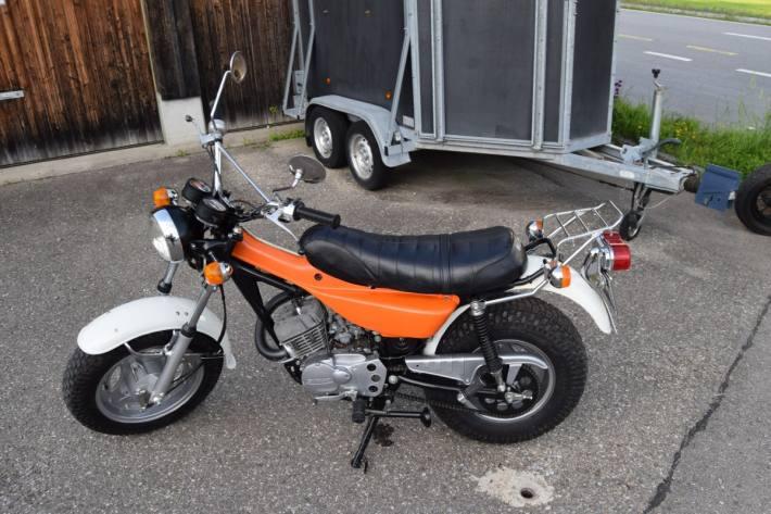 Eine Motorradlenkerin verletzte sich gestern in Teufen bei einem Selbstunfall.