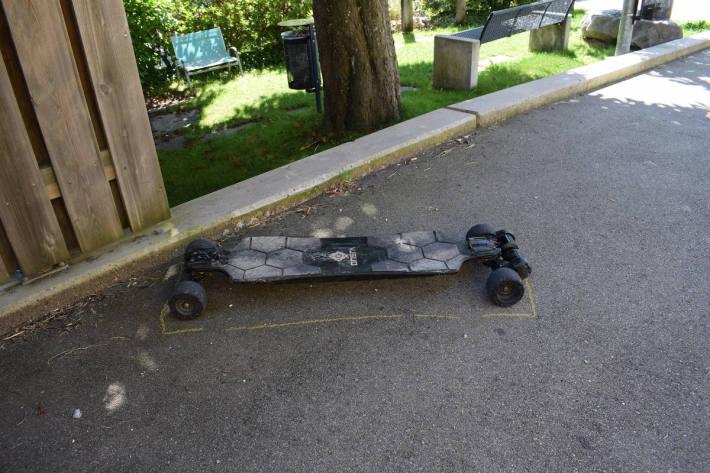 Auffahrunfall mit Elektro-Skateboard in Waldstatt