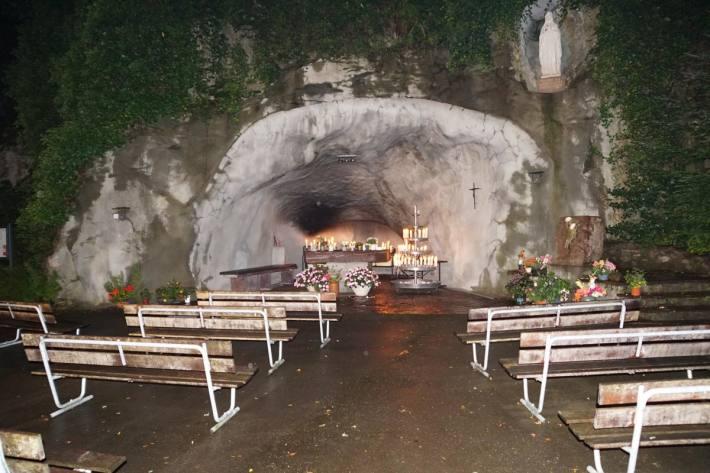 Einbruchversuch in Grotte in Mels