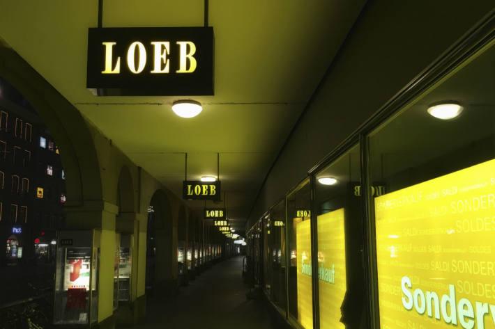 Lidl mietet sich bei Loeb ein.