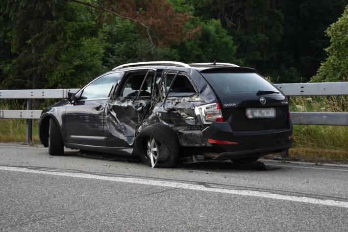 In Staad SG kam es gestern zu einem Unfall auf der Autobahn.