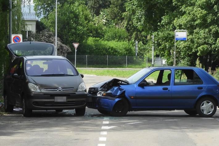 In Münchwilen TG verletzten sich gestern vier Personen nach einem Unfall-