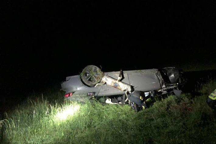 Zwei Schwerverletzte bei einem Verkehrsunfall in La Roche